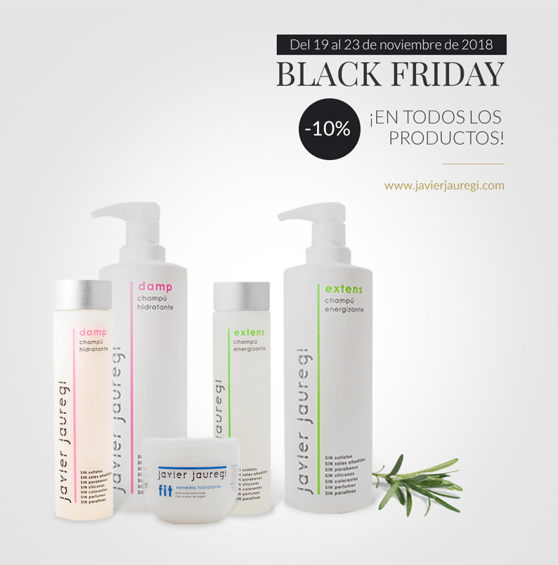 Descuentos Black Friday en productos Javier Jauregi