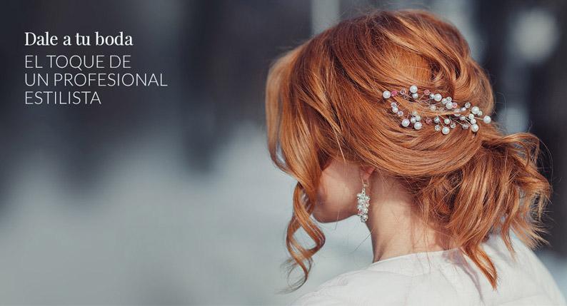 Peinados de boda de Javier Jauregi